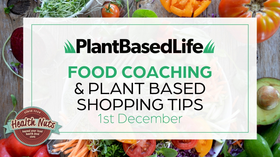 Food Coaching & Plant Based Shopping Workshop